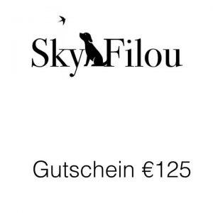 Gutschein €125