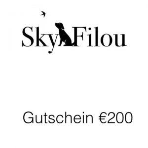 Gutschein €200